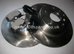Range Rover P38 MKII Front Brake Discs and Pad Set -1995-2002