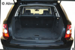 Range Rover Sport Grey Mesh Dog Guard