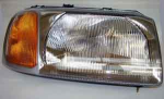 Freelander up to 2001 RHD Head lamp / Light unit RH