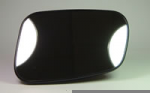 Land Rover Discovery 2 1998-2004 Left Hand heated Mirror Glass