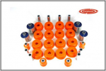 Discovery 2 Polybush Orange Suspension Bush Kit 1998-2004