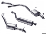 Range Rover P38 V8 Petrol Stainless Steel Twin Exhaust System 1997-2002