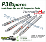 Land Rover Discovery 2 Set of Front and Rear Terrafirma All Terrain Shock Absorbers 98 - 04