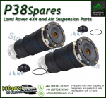 Arnott Audi A6, Allroad Quattro (C5 Chassis, Type 4B) Pair of Front Air Suspension Spring/Bags/Strut with fitting kit 1999-2006