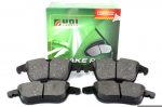 Front Range Rover Evoque Unibrakes Brake Pads without Clips 2012 - Onwards