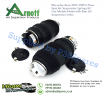 Mercedes Benz E Class (with 489 code W/O ADS) Rear Air Spring 2003 - 2009, for Models Fitted with rear air suspension only.