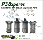 Range Rover P38 MKII Dunlop Front & Rear Air Bags (x4) & Clips 1995-2002
