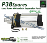 Rear Arnott Audi A6 Allroad Quattro (C5 Chassis, Type 4B)  Generation II Air Spring (fits Left or Right) 1997-2005