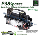 Mercedes-Benz S-Class (W220), E-Class (W211), CLS-Class (W219) Wabco Air Suspension Compressor/Dryer Assembly 1998-2011