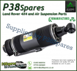 Rear Left Mercedes-Benz SL-Class (R230) Arnott Remanufactured ABC Hydraulic Suspension Strut 2002-2006