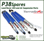 Defender 90/110/130 Front & Rear Terrafirma Pro Sport Standard Travel Shock Absorbers 95-02 (x4)