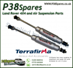 LR Discovery 1 Front Terrafirma Big Bore Expedition +2 Inch Travel Shock Absorber 89-98 - x2