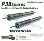 Land Rover Discovery 1 Terrafirma Front Commercial STD Travel Heavy Duty Shock Absorber (Pair) 89-98