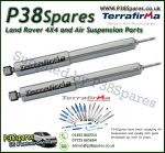 Range Rover Classic Terrafirma Rear Commercial STD Travel Heavy Duty Shock Absorber (Pair) 86-94