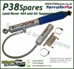 Range Rover Classic Terrafirma Remote Reservoir +2 Inch Rear Shock Absorber (Fits Left or Right) 86-94 x1