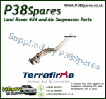 Land Rover Discovery 1 3.9Efi (3-bolt flange) Terrafirma Centre Silencer Replacement Pipe 1991-1998