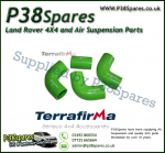 Land Rover Defender 90/110/130 200TDI Terrafirma Green Silicone Turbo & Intercooler Hose Pipe Kit