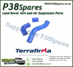 Land Rover Defender 90/110/130 300TDI Terrafirma Blue Silicone Turbo & Intercooler Hose Pipe Kit