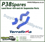 Land Rover Defender 90/110/130 Td5 Terrafirma Blue Silicone Turbo & Intercooler Hose Pipe Kit