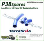 Land Rover Defender 90/110/130 TD4 2.4 Terrafirma Blue Silicone Turbo & Intercooler Hose Pipe Kit