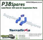 Land Rover Discovery 2 TD5 Terrafirma Blue Silicone Turbo & Intercooler Hose Pipe Kit