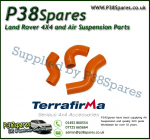 Land Rover Discovery 2 TD5 Terrafirma Orange Silicone Turbo & Intercooler Hose Pipe Kit