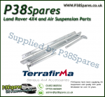 Land Rover Defender 90 Terrafirma Galvanised Pair of Rock Sliders/Side Protection Bars With Tree Bars (Fits Left & Right)