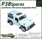 Defender 2007 Die-Cast 1:24 Scale Model - White
