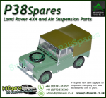 Land Rover Series 1 Die-Cast 1:43 Scale Model Export Version - Green