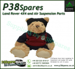 Land Rover Soft and Cuddly Rugby Collection Bear - 40cm