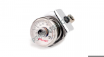Pressure Gauge For Touring Series (Chrome Bracket) -  Arnott  Motorcycle Air Suspension