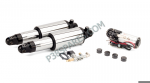 Harley-Davidson - Touring Series Motorcycle Air Suspension Kit For Model Years 1990-2008 - Chrome