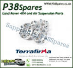 Defender. Discovery 1, Rand Rover Classic Terrafirma 30mm Alloy Wheel Spacers x4