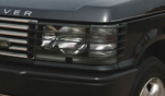 Range Rover P38 MKII Front Light Guards - Drill fit - Pair 1995-2002