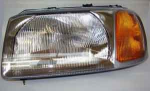 Freelander upto 2001 RHD Head Lamp / Light Unit LH