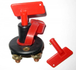 Key Operated Battery Cut-Out / Isolator Switch - 12V