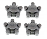 Discovery 2 Centre & Wheel Nut Cover/Caps x4 1998-2004