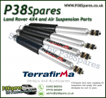 Range Rover P38 MKII Front & Rear Terrafirma HD Shock Absorbers 94-02 - X4