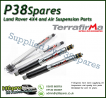 Land Rover Discovery 1 Set of Front and Rear Terrafirma All Terrain Shock Absorbers 98-04