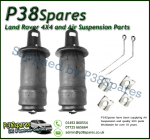 Front Range Rover P38 MKII Dunlop Air Suspension Springs & Clips Fits Left & Right 1994-2002