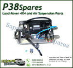 Mercedes Benz Vito V-Class (W638 & W638/2) AMK Air Suspension Compressor Pump with Bracket & QSV 1996-2003