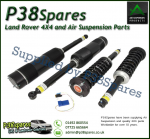 Arnott Air to Coil Spring Mercedes-Benz S-Class (W220) w/Airmatic, w/o 4Matic Conversion Kit 1998-2006