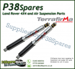 Range Rover Classic Terrafirma All-Terrain Pair of Rear Shock Absorbers (Fits Left & Right)