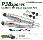 Defender 90/110/130 Rear Terrafirma Big Bore Expedition Standard Travel Shock Absorber x2