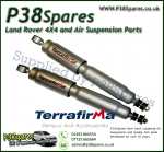 Defender 90/110/130 Rear Terrafirma Big Bore Expedition +2 Inch Travel Shock Absorber - x2