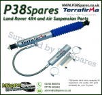 Land Rover 90/110/130 Terrafirma Remote Reservoir +5 Inch Front Shock Absorbers (Fits Left & Right)