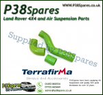 Land Rover Defender 90/110/130 300TDI Terrafirma Green Silicone Turbo & Intercooler Hose Pipe Kit