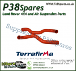 Land Rover Defender 90/110/130 TD4 2.4 Terrafirma Orange Silicone Turbo & Intercooler Hose Pipe Kit