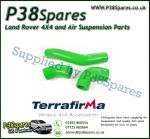 Land Rover Defender 90/110/130 TD4 2.4 Terrafirma Green Silicone Turbo & Intercooler Hose Pipe Kit