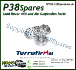 Terrafirma Alloy Wheel Adaptors - 5x165 hub to 5x120  72.6mm